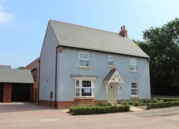Thumbnail 4 bedroom detached house for sale in Bluebell Way, Coalville