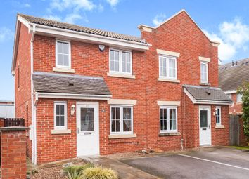 Thumbnail 3 bed semi-detached house for sale in Cherry Tree Walk, Knottingley
