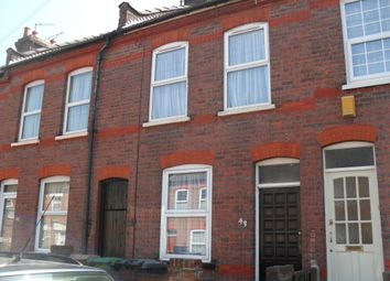 Thumbnail 2 bed terraced house to rent in Butlin Road, Luton, Bedfordshire