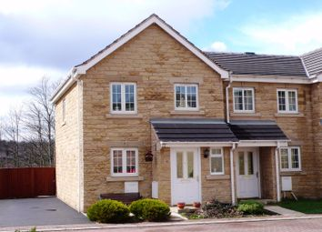Thumbnail 3 bed end terrace house to rent in Spa Courtyard, Fenay Bridge, Huddersfield, West Yorkshire