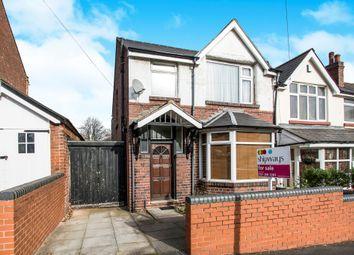 Thumbnail 3 bedroom semi-detached house for sale in Grafton Road, Handsworth, Birmingham