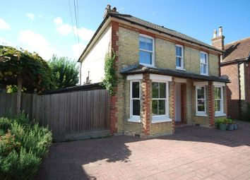 Thumbnail 4 bed detached house for sale in Church Road, Lyminge, Folkestone