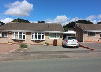Thumbnail 2 bed semi-detached bungalow for sale in Overdale Drive, Walsall