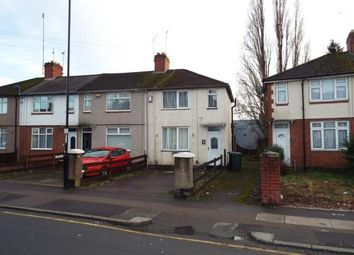 Thumbnail 2 bed end terrace house for sale in Parkgate Road, Holbrooks, Coventry, West Midlands