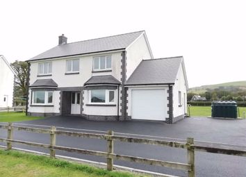 Thumbnail 4 bedroom detached house for sale in Tregaron