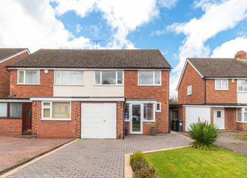 Thumbnail 3 bed semi-detached house for sale in Swanswell Road, Solihull