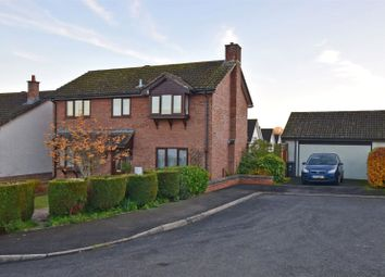 Thumbnail 4 bedroom detached house for sale in Newbery Close, Colyton, Devon
