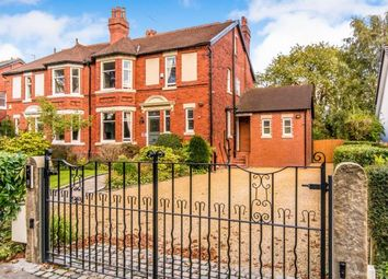 Thumbnail 6 bed semi-detached house for sale in Egerton Road, Davenport, Stockport, Cheshire