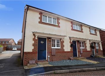 Thumbnail 2 bed semi-detached house for sale in Kent Way, Church Gresley