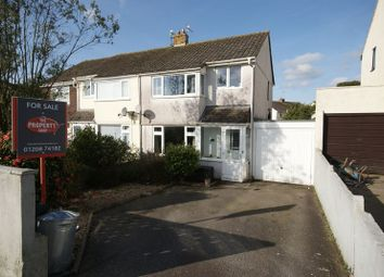 Thumbnail 3 bed property for sale in Broomfield Drive, Bodmin