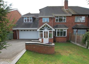 Thumbnail 4 bed semi-detached house for sale in Oakfield Avenue, Kingswinford