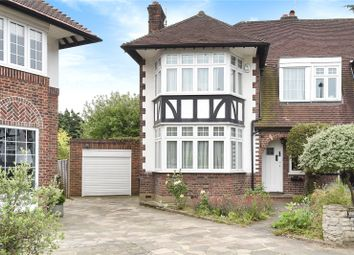 Thumbnail 3 bed semi-detached house for sale in Yew Tree Close, Winchmore Hill, London