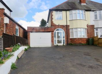 Thumbnail 4 bed semi-detached house for sale in Harborough Road, Oadby, Leicester