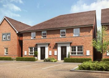 "Thumbnail 3 bedroom terraced house for sale in ""Maidstone"" at Hanworth Lane, Chertsey"