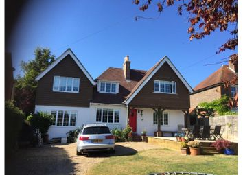Thumbnail 4 bed detached house for sale in Nepfield Close, Worthing