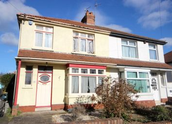 Thumbnail 3 bed semi-detached house to rent in Highbury Road, Horfield, Bristol