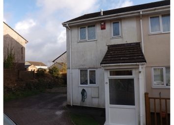 Thumbnail 2 bed end terrace house for sale in Douglas Close, Roche, St. Austell