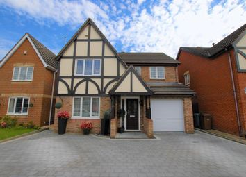 Thumbnail 4 bedroom detached house for sale in Suffolk Road, Lightwood, Longton, Stoke-On-Trent