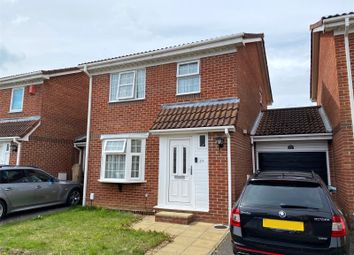 3 bed link-detached house for sale in Honeysuckle Close, Gosport, Hampshire PO13