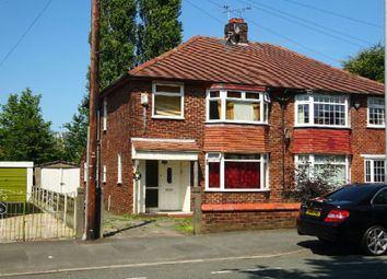 Thumbnail 3 bed semi-detached house for sale in Brantingham Road, Chorlton, Manchester