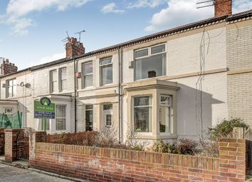 Thumbnail 3 bed terraced house for sale in Alnwick Avenue, Whitley Bay