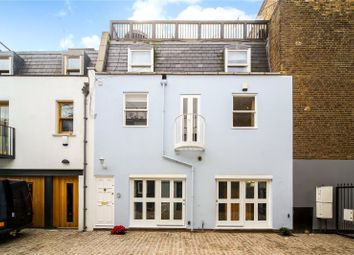 Thumbnail 2 bed mews house to rent in Alba Place, London