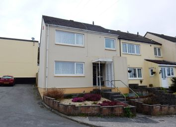 Thumbnail 3 bed end terrace house for sale in Mersey Close, Plymouth