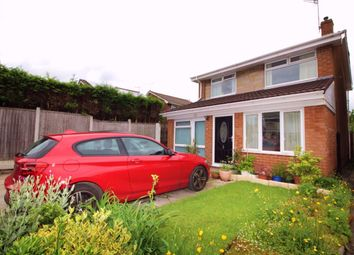 Thumbnail 3 bedroom detached house for sale in Sherwood Avenue, Heaton Norris, Stockport
