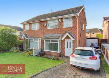 Thumbnail 3 bed semi-detached house for sale in Cleveland Grove, Garden City, Deeside, Flintshire