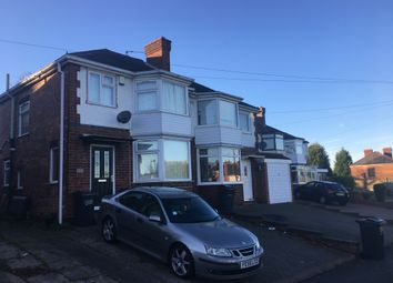 Thumbnail 3 bedroom semi-detached house to rent in Chipperfield Road, Hodge Hill, Birmingham