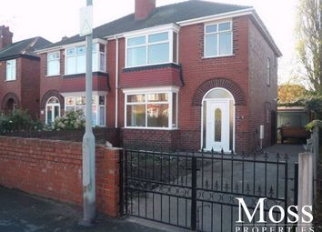 Thumbnail 3 bed semi-detached house to rent in Zetland Road, Town Moor, Doncaster