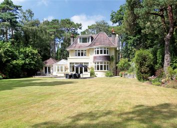 Thumbnail 5 bedroom detached house for sale in Mornish Road, Branksome Park, Poole, Dorset