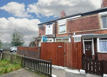 Thumbnail 2 bedroom terraced house for sale in Clarence Avenue, Delhi Street, Hull