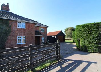 Thumbnail 4 bed semi-detached house for sale in Main Road, Woolverstone, Ipswich