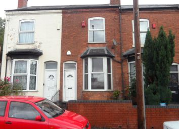 Thumbnail 3 bed terraced house to rent in Wellington Road, Handsworth, Birmingham