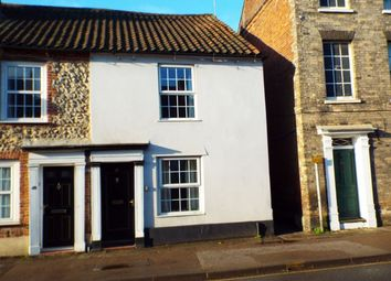 Thumbnail 3 bedroom end terrace house for sale in London Street, Swaffham