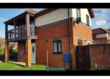 Thumbnail 2 bed semi-detached house to rent in Loughton, Milton Keynes