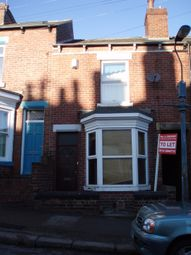 Thumbnail 3 bedroom terraced house to rent in Fulmer Road, Hunter's Bar, Sheffield