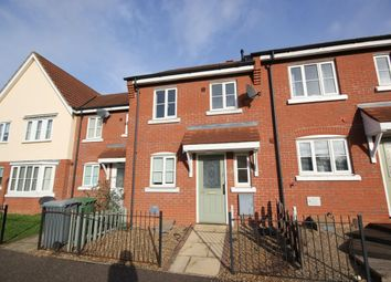 Thumbnail 2 bed terraced house to rent in Vane Close, Norwich