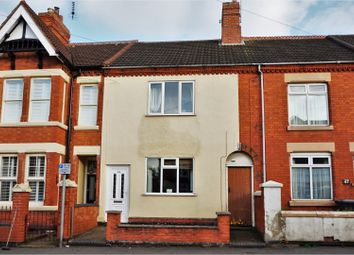 Thumbnail 2 bedroom terraced house for sale in Central Road, Coalville