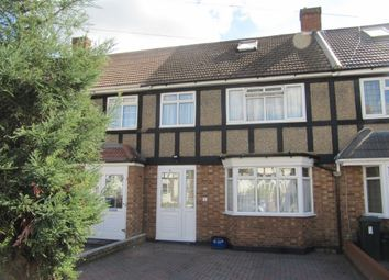 Thumbnail 4 bed terraced house for sale in Cleves Walk, Hainault