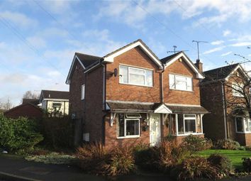 Thumbnail 3 bedroom detached house for sale in Crossfield Avenue, Blythe Bridge, Stoke-On-Trent