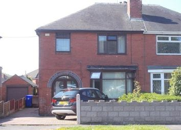 Thumbnail 3 bed semi-detached house for sale in Milton Road, Stoke-On-Trent, Staffordshire