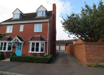 Thumbnail 5 bed detached house for sale in Elder Close, Witham St. Hughs, Lincoln