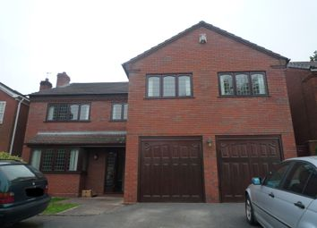 Thumbnail 4 bed detached house to rent in Holder Drive, Cannock