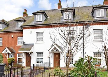 Thumbnail 4 bed town house for sale in Hall Road, Wouldham, Rochester, Kent