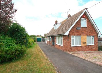 Thumbnail 3 bed detached bungalow for sale in Bayview Road, Seasalter, Whitstable