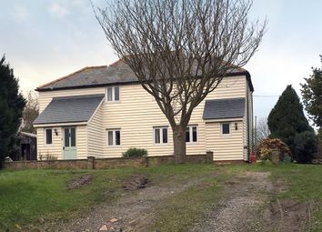 Thumbnail 4 bedroom detached house for sale in Dover Road, Westcliffe, Dover
