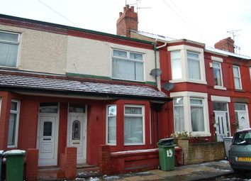 Thumbnail 3 bed terraced house to rent in Clifford Road, Wallasey
