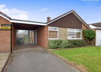 Thumbnail 2 bed detached bungalow for sale in Tudor Close, Stone, Staffordshire